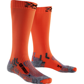 X-Socks Run Energizer Long Calcetines, orange sunshine